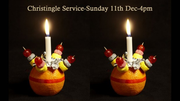 187 Christingle Service Sunday 11th Dec 4pm