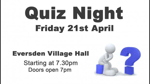 17-04-18 Quiz Night Village Hall