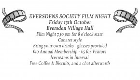 17-10-13 Film Night