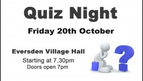 17-10-20 Quiz Night Village Hall