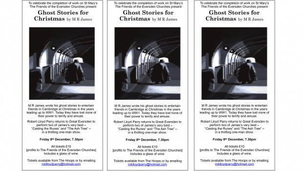 Ghost Stories website home page