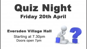 Quiz Night Village Hall Home Page