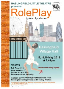 Haslingfield Little Theatre Poster - RolePlay