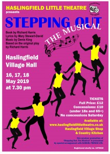 Stepping out - The Musical Poster