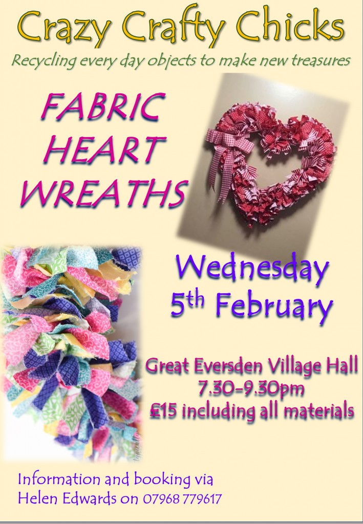 Craft Night poster 05Feb2020